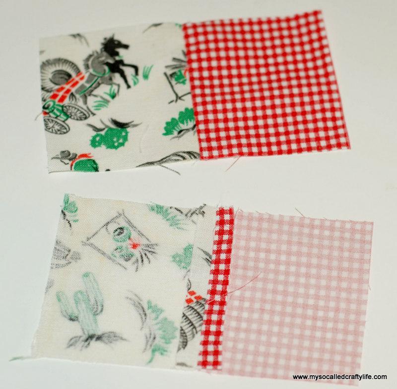 41 DIY Vintage Scrappy Patchwork Fabric Coasters