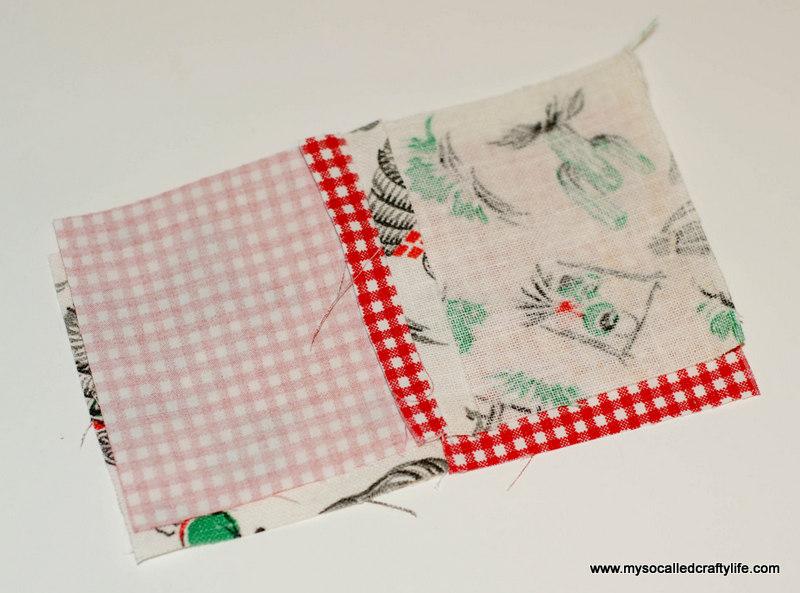51 DIY Vintage Scrappy Patchwork Fabric Coasters