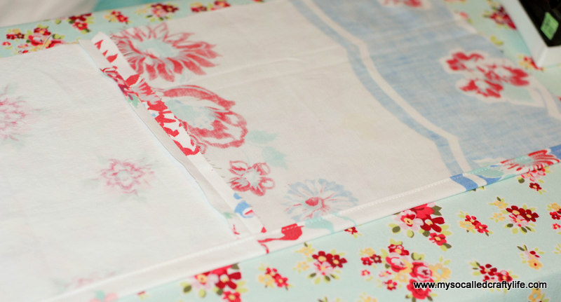 52 DIY Upcycled Vintage Tablecloth Apron