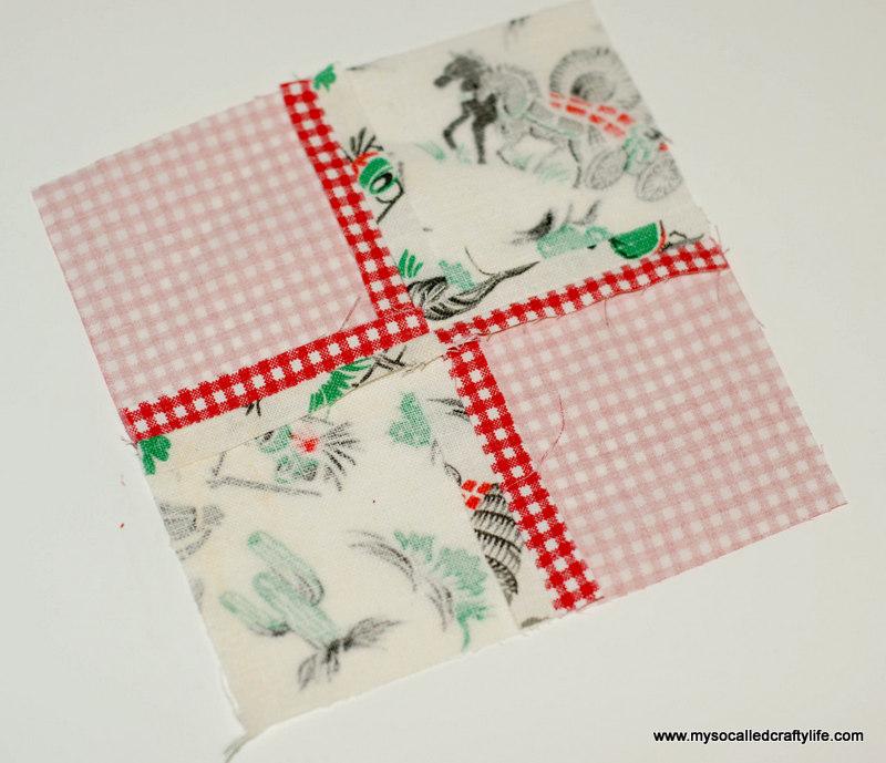 61 DIY Vintage Scrappy Patchwork Fabric Coasters