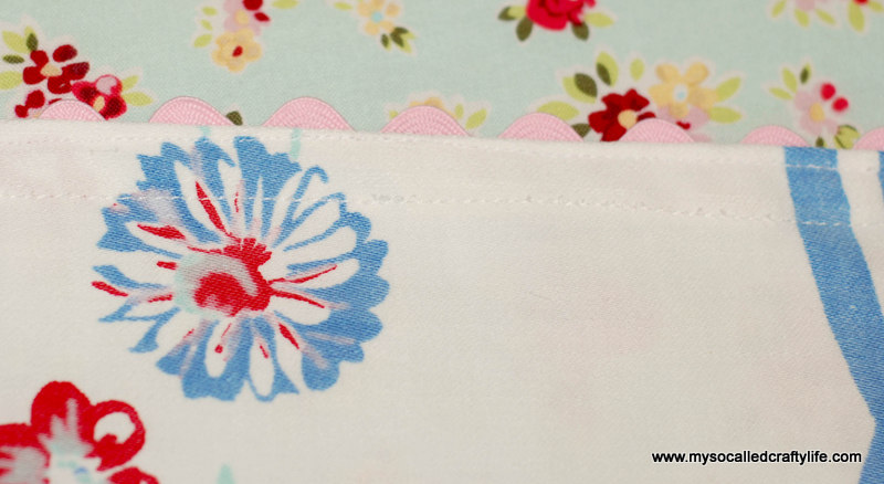 62 DIY Upcycled Vintage Tablecloth Apron