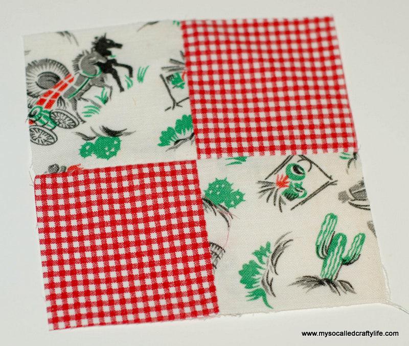 71 DIY Vintage Scrappy Patchwork Fabric Coasters