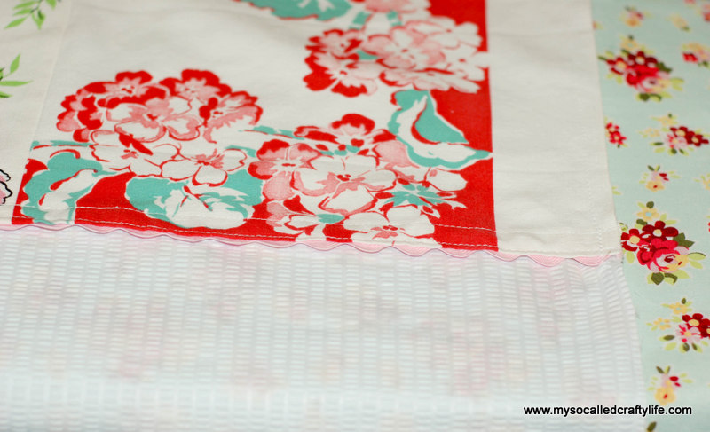 82 DIY Upcycled Vintage Tablecloth Apron