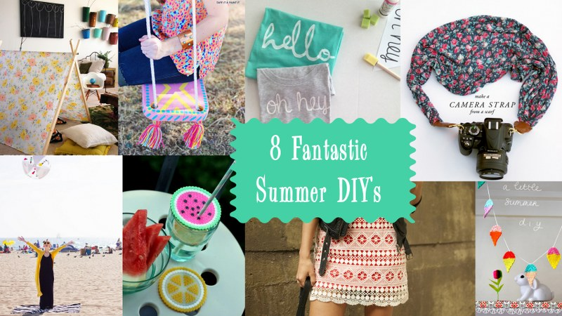 summer round up 800x450 Fantastic DIYs to Try This Summer!