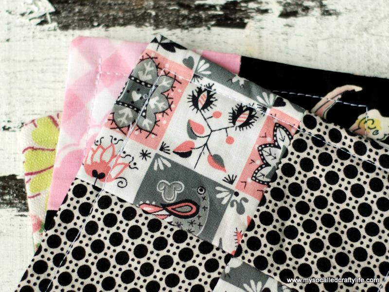 vintage fabric birds