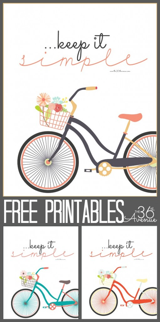 Free Printables. Keep it Simple at the36thavenue.com  511x1024 Summertime Free Printables Round Up