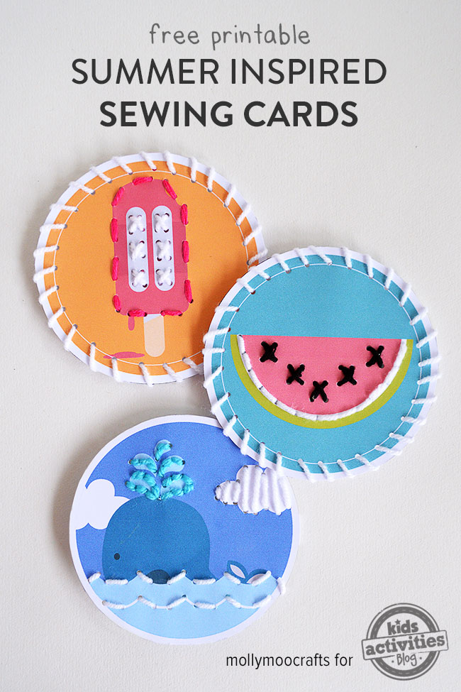 free printable sewing cards KAB Summertime Free Printables Round Up