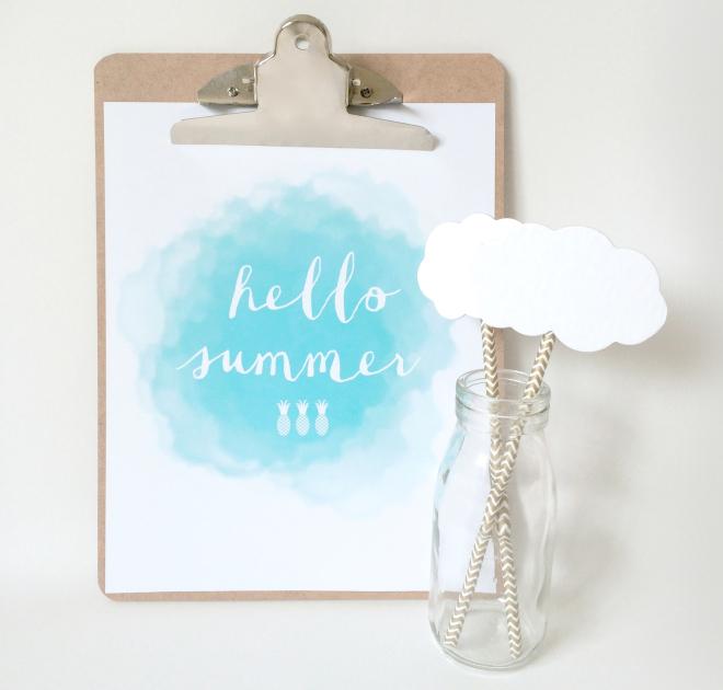 hellosummeaqua Summertime Free Printables Round Up