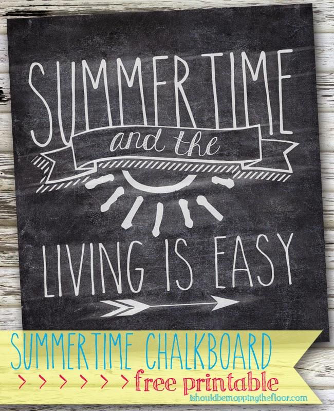 summertime free printable Summertime Free Printables Round Up