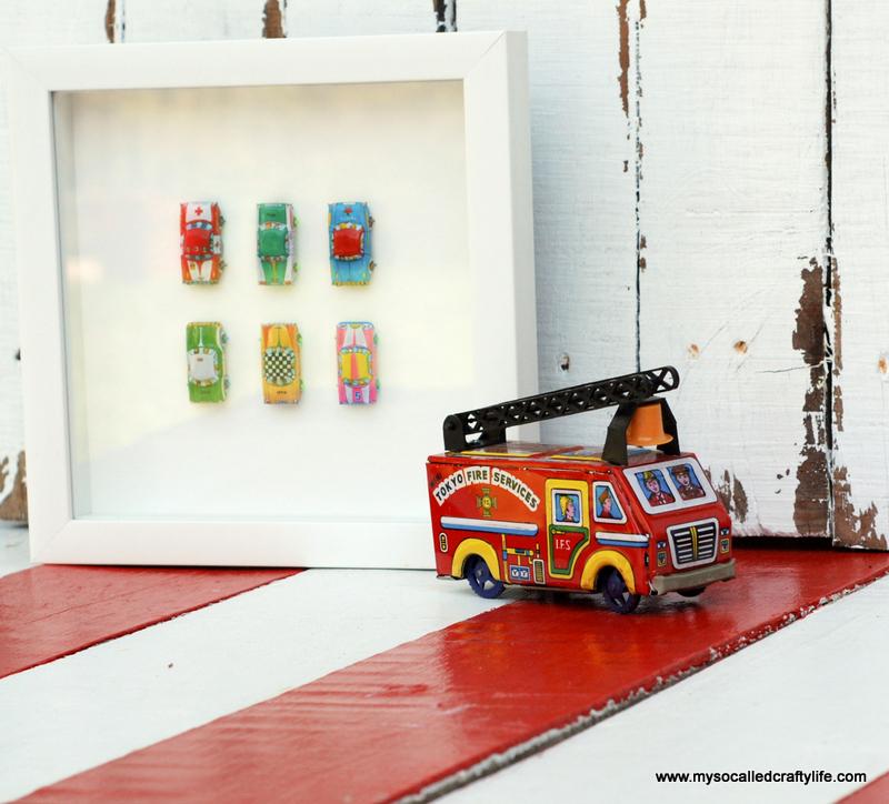 03 DSC 0095 4 Easy Framed Vintage Toys for a Kids Room