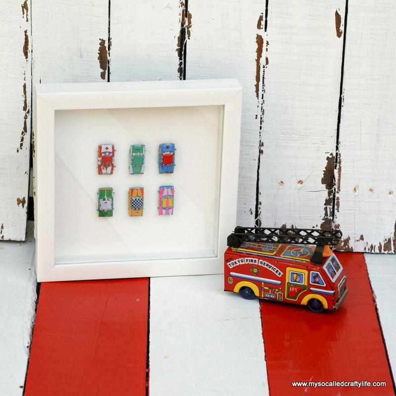 04 DSC 0092 4 Easy Framed Vintage Toys for a Kids Room