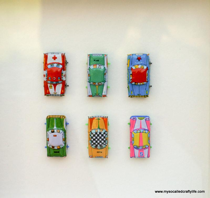 06 DSC 0086 4 Easy Framed Vintage Toys for a Kids Room