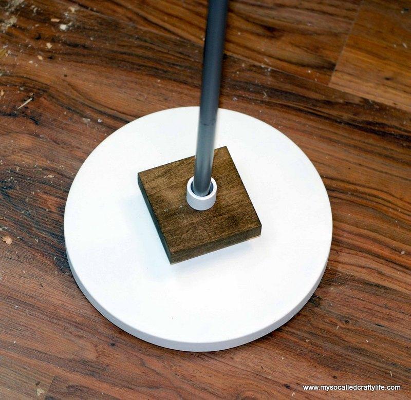 21 DSC 0036 DIY Mid Century Modern Inspired Wood Floor Lamp