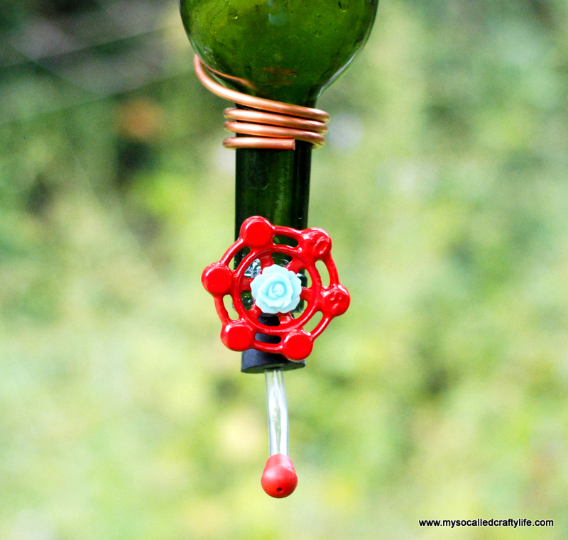 5 DSC 0168 Protea Wines Art Blossoms & DIY Wine Bottle Hummingbird Feeder