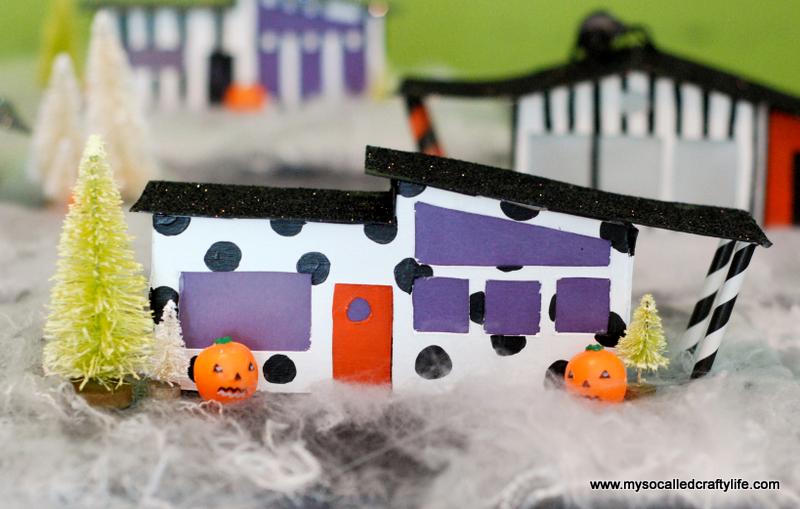 01 DSC 0176 2 DIY Mid Century Modern Halloween Village