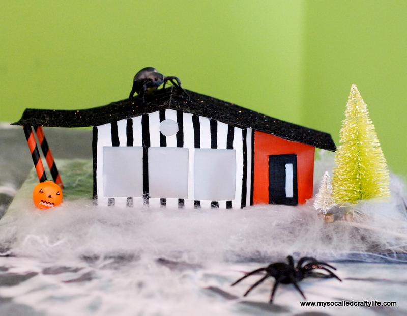 03 DSC 0174 3 DIY Mid Century Modern Halloween Village