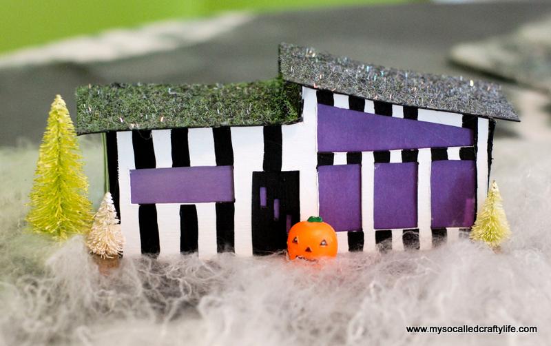 04 DSC 0173 3 DIY Mid Century Modern Halloween Village