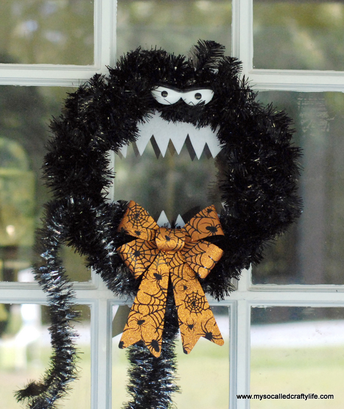 05 DSC 0084 2 DIY Nightmare Before Christmas Inspired Halloween Wreath
