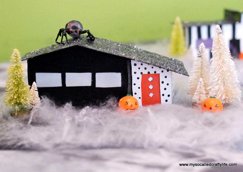 05 DSC 0172 3 DIY Mid Century Modern Halloween Village
