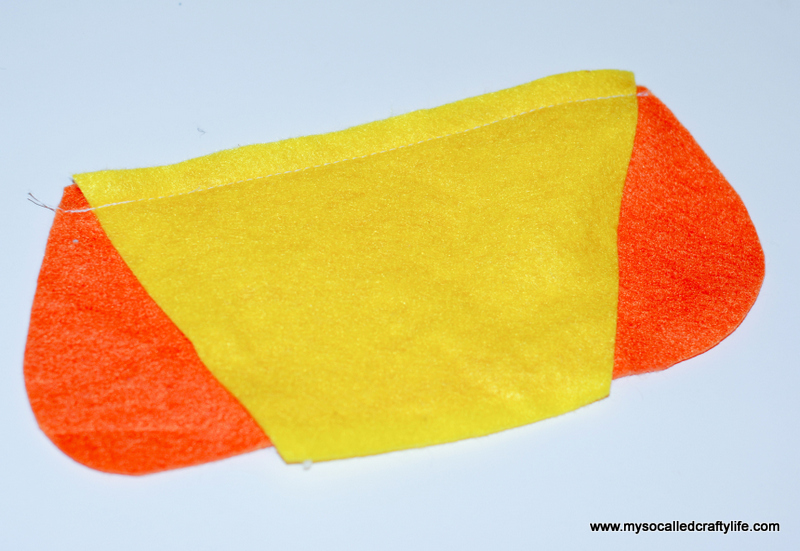 10 DSC 0117 2 DIY Halloween Felt Cute Candy Corn Plushie