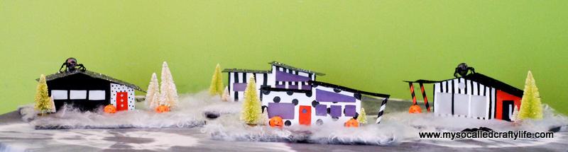 10 DSC 0164 3 DIY Mid Century Modern Halloween Village