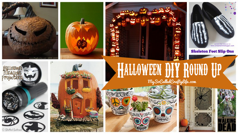 october round up Halloween DIY Round Up  October 2014