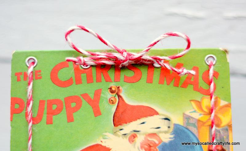 01 DSC 0141 DIY Upcycled Childrens Christmas Frame