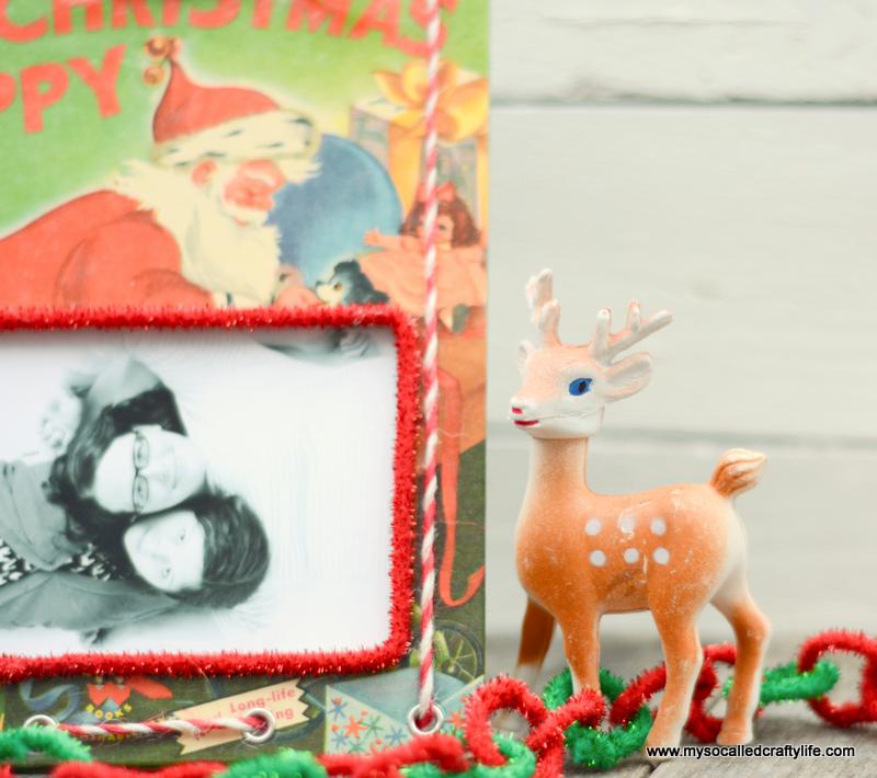 03 DSC 0139 DIY Upcycled Childrens Christmas Frame