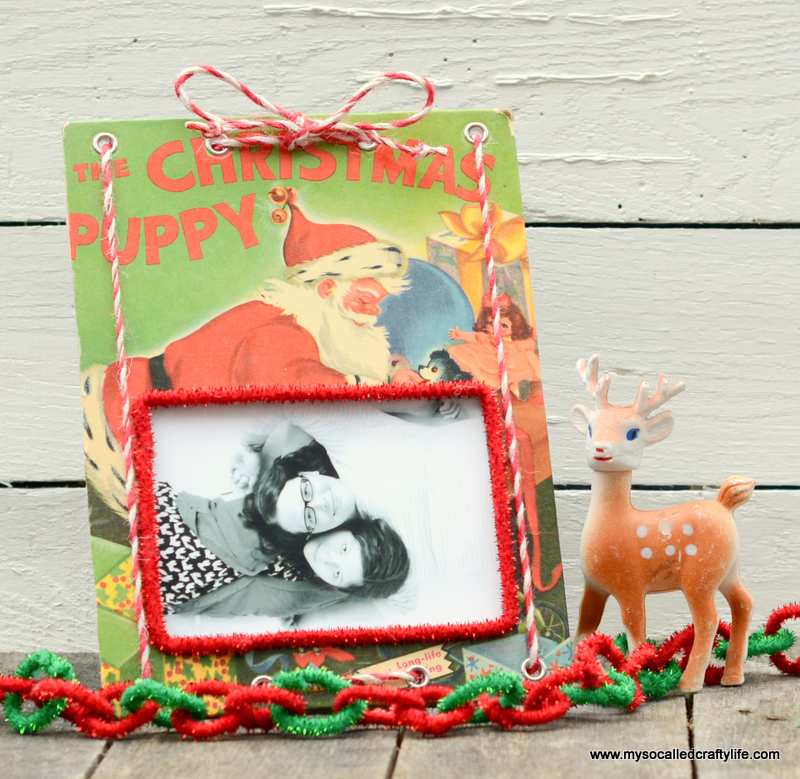 05 DSC 0131 DIY Upcycled Childrens Christmas Frame