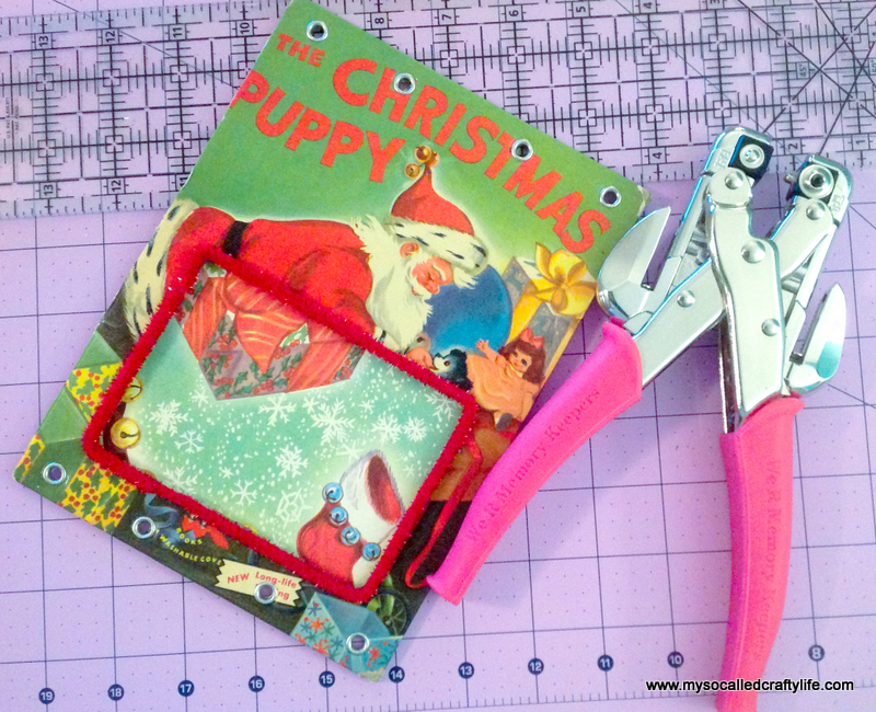 07 IMG 3823 DIY Upcycled Childrens Christmas Frame