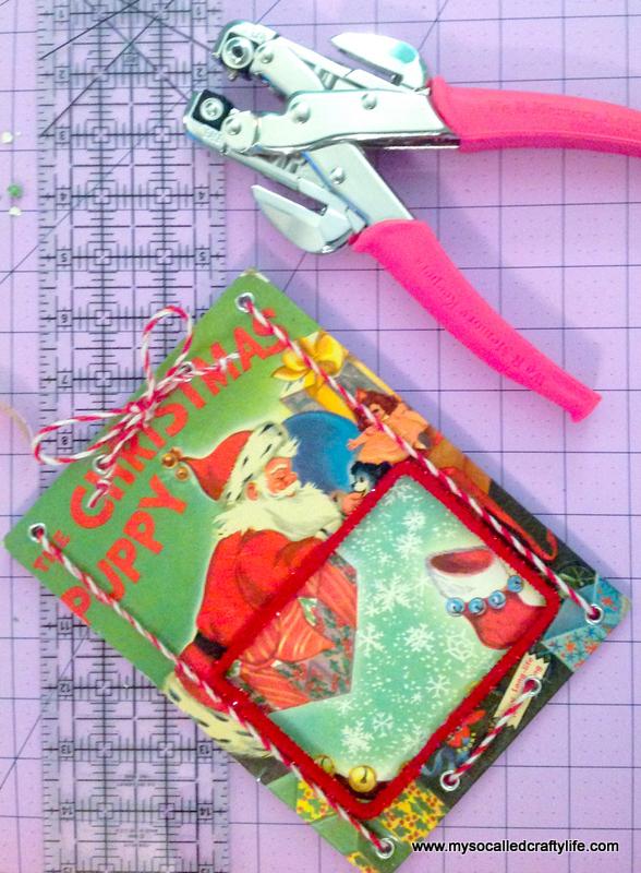 09 IMG 3824 DIY Upcycled Childrens Christmas Frame