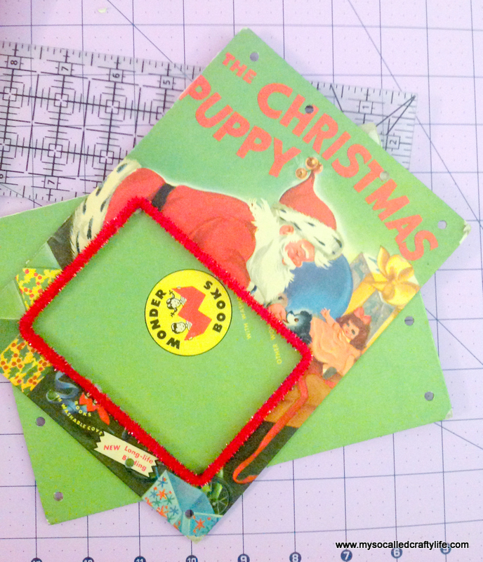 11 IMG 3821 DIY Upcycled Childrens Christmas Frame