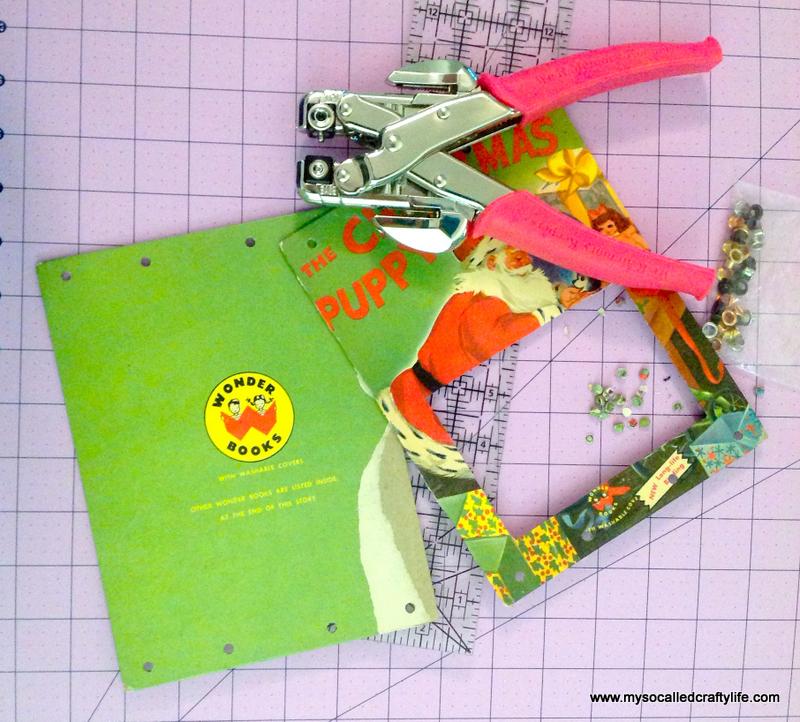 12 IMG 3820 DIY Upcycled Childrens Christmas Frame