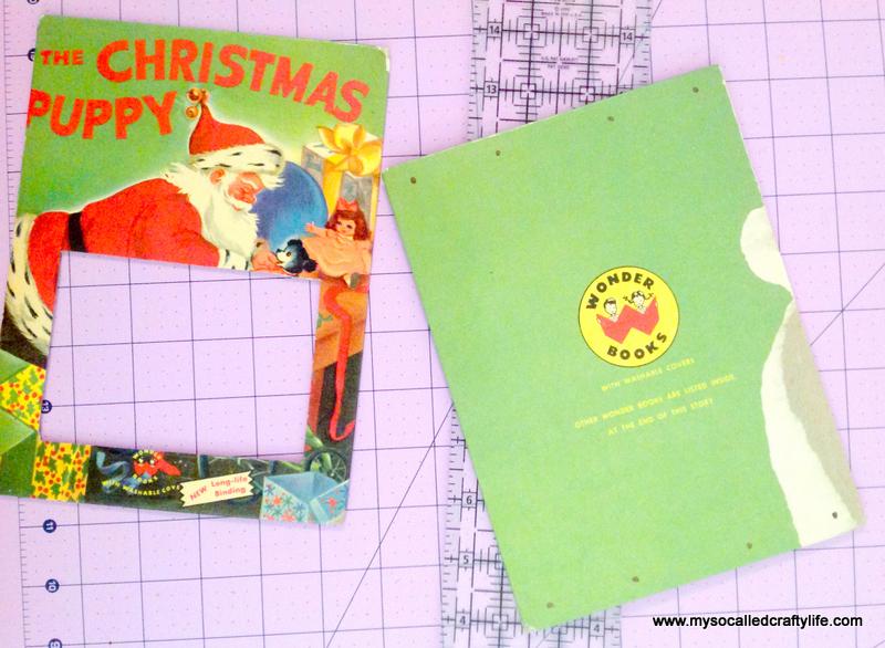 13 IMG 3819 DIY Upcycled Childrens Christmas Frame