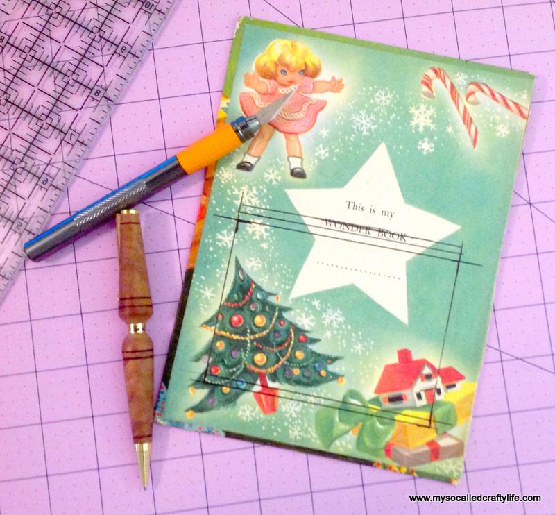 15 IMG 3816 DIY Upcycled Childrens Christmas Frame