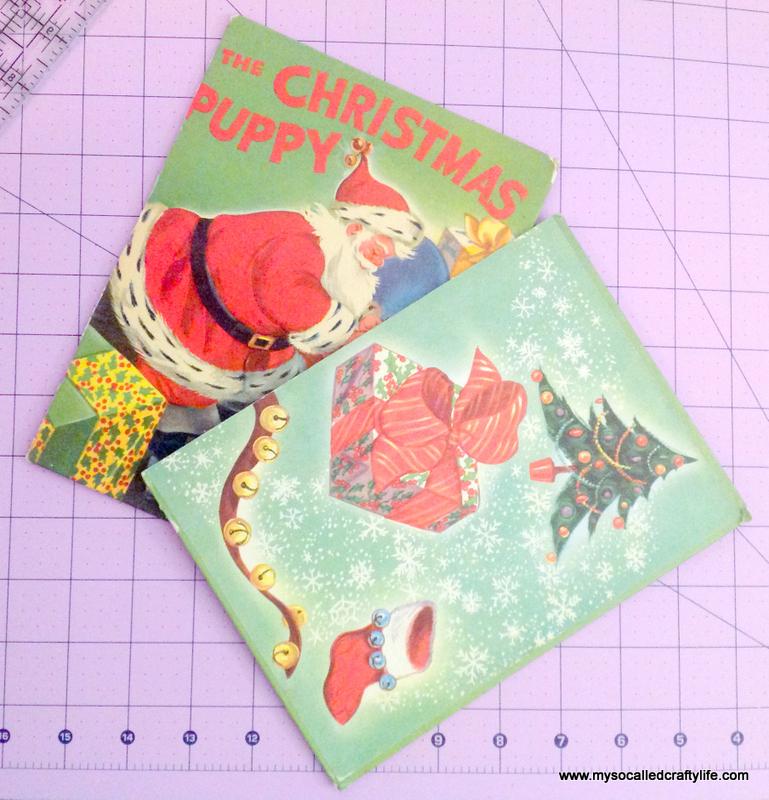 16 IMG 3815 DIY Upcycled Childrens Christmas Frame