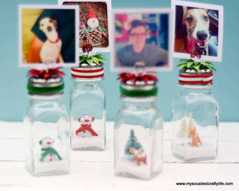 18 DSC 0201 DIY Salt Shaker Christmas Photo Holders