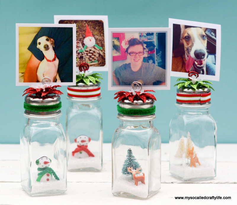20 DSC 0207 DIY Salt Shaker Christmas Photo Holders