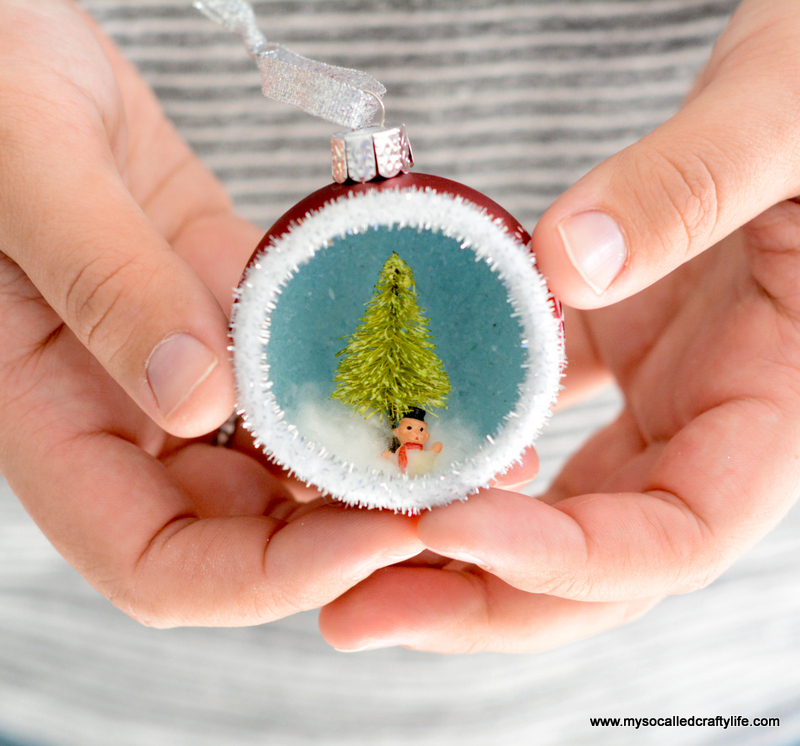 DIY Vintage Inspired Diorama Ornaments - My So Called ...