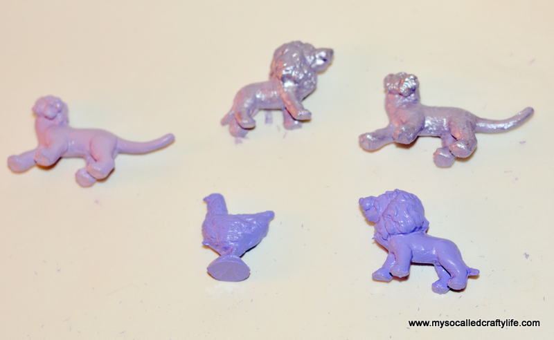 9 DSC 0641 Handmade Gifts 2014  Easy Painted Toy Animal Magnets