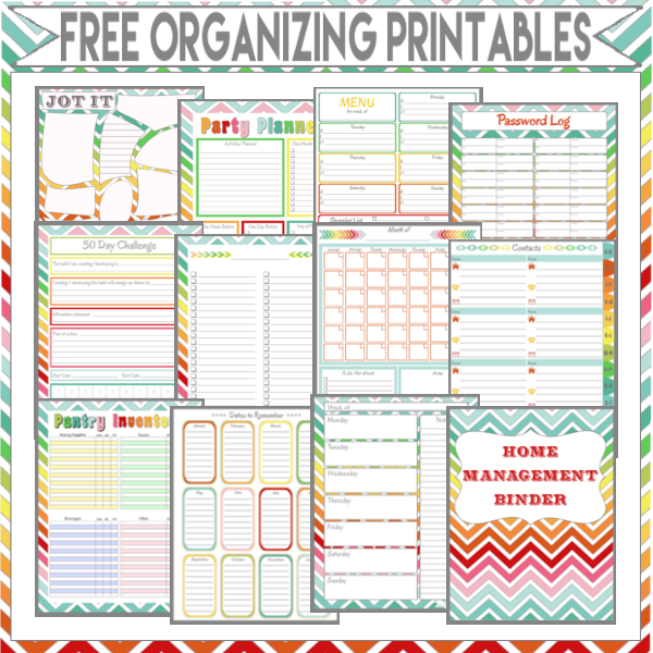 image about Free Printable Organizing Sheets named Purchase Well prepared inside of 2015 10 Absolutely free Printables! - My Therefore Named
