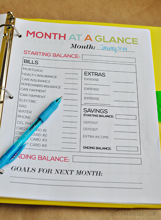 get organized in 2015 ten free printables