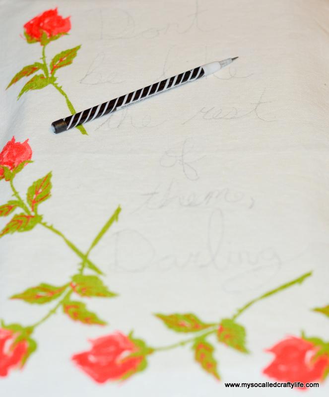03 DSC 1437 DIY Embroidered Vintage Linen Canvas Art