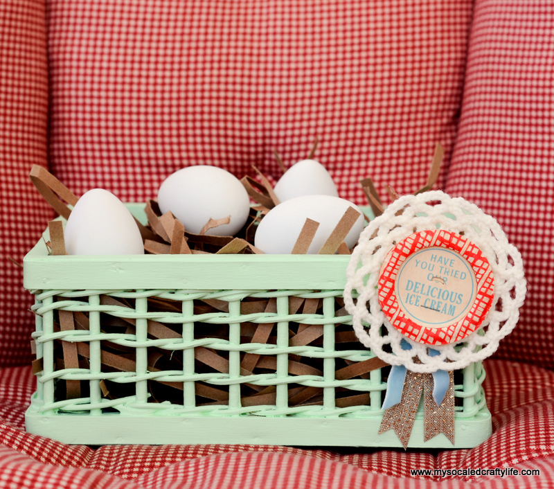 09 DSC 1832 DIY Easy Upcycled Painted Easter Baskets