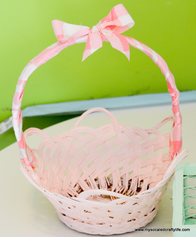 19 DSC 1806 DIY Easy Upcycled Painted Easter Baskets