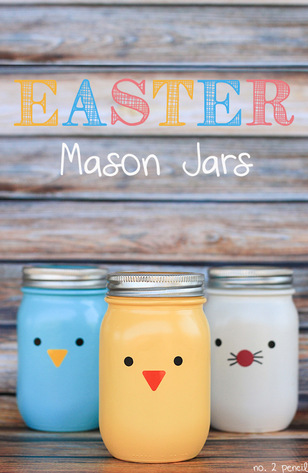 Easter Mason Jars 2 Craft Round Ups  Easter DIYs to Try