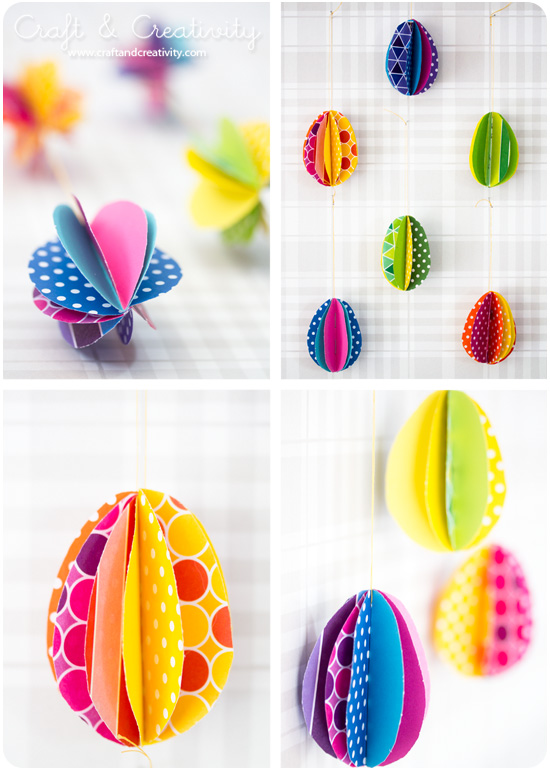 papereggscolor1 Craft Round Ups  Easter DIYs to Try