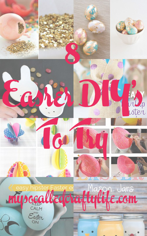 1 round up april2 Craft Round Ups  Easter DIYs to Try