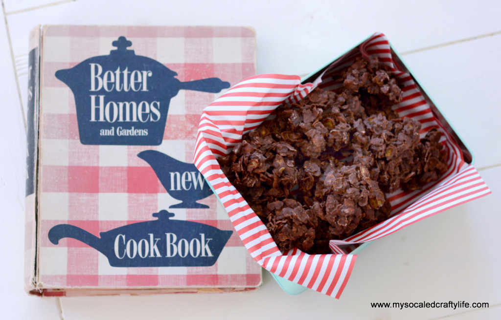 5 DSC 3333 1024x655 Vintage Recipe Reviews  Chocolate Delight Drop Cookies