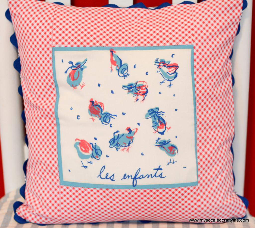 04 DSC 3548 1024x915 Vintage Cocktail Napkin Pillow